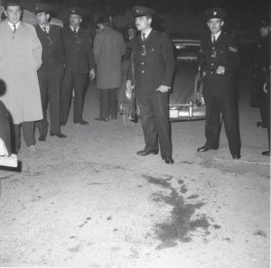 The spot in Nicosia where two Turkish Cypriots were killed on December 21, 1963