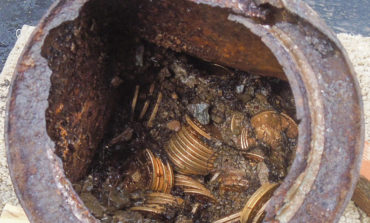 California couple finds $10m in buried treasure while walking dog