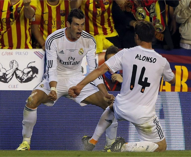 Bale hails perfect night after King's Cup winner