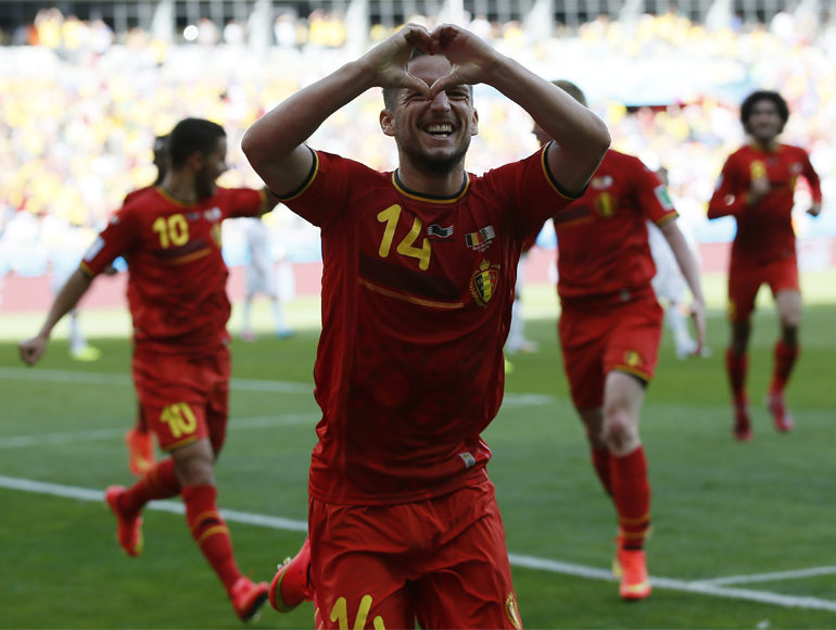 Nervy Belgium made to sweat for 2-1 win over Algeria