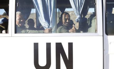 Syria's Nusra Front releases UN peacekeepers in Golan