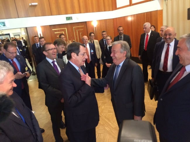 Anastasiades sends out letter to Guterres