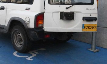 'Hermes did better job than state over illegal parking in disabled spots'