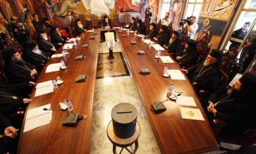 Holy Synod 'cannot excuse homosexuality'