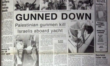 Gunned down: Palestinian gunmen kill three Israelis aboard yacht in Larnaca marina. The PLO office in Nicosia denounces the killings - September 26, 1985
