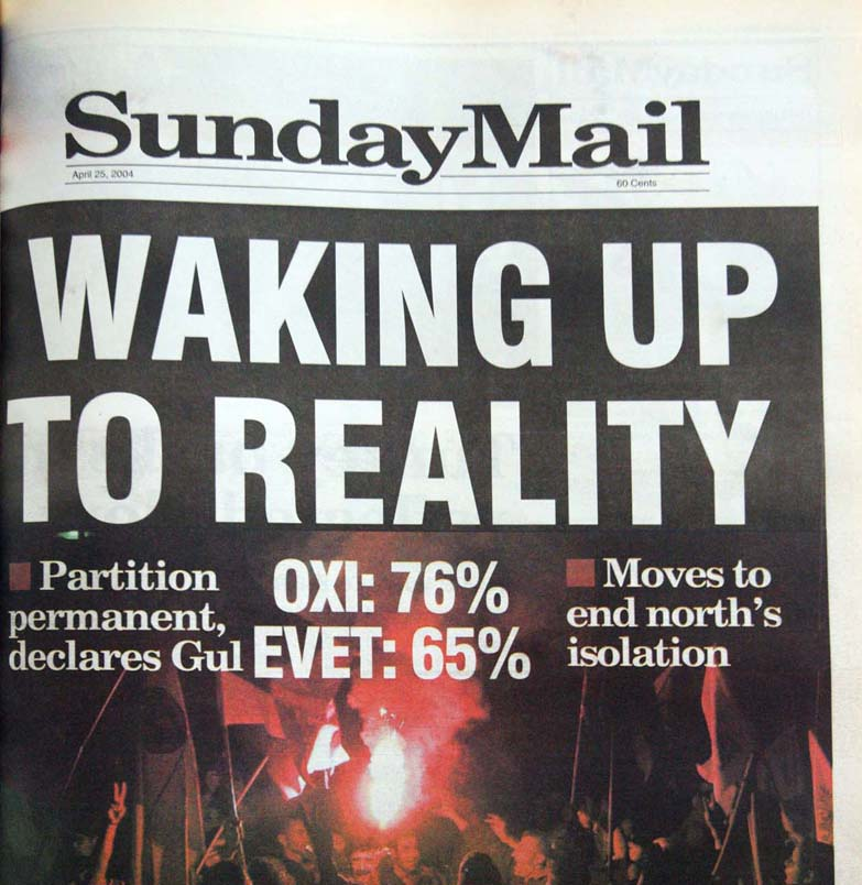 Waking up to reality - April 25, 2004