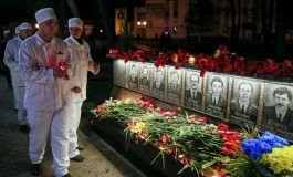 On 30th anniversary of Chernobyl disaster, Ukraine remembers its victims