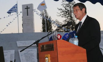 Anastasiades says who administers 'doesn't matter' as long as Greek Cypriots have right to return