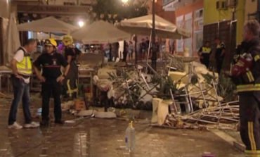 At least 77 hurt after gas cylinder explodes in southern Spain