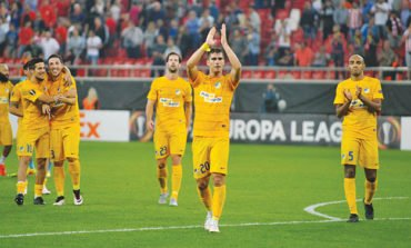 Apoel looking to seal qualification in icy Astana