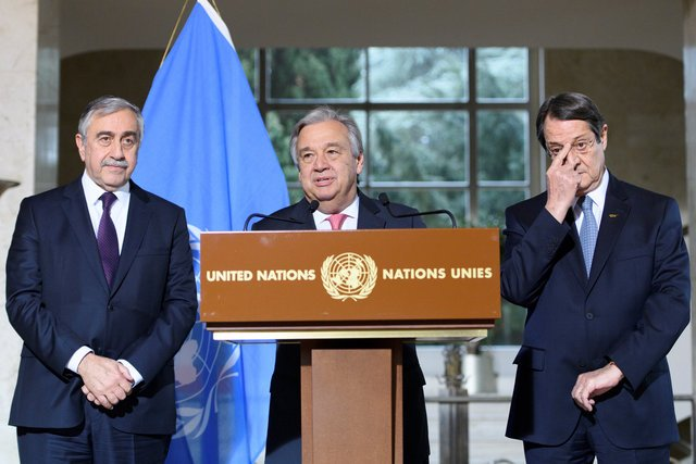 "UN chief Guterres says Cyprus talks show progress but no ""quick fix"" (Updated)"