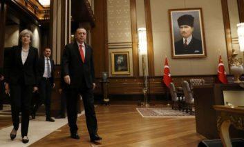Erdogan, May discuss Cyprus