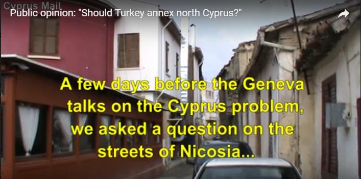 Should Turkey annex north Cyprus?   [VIDEO]