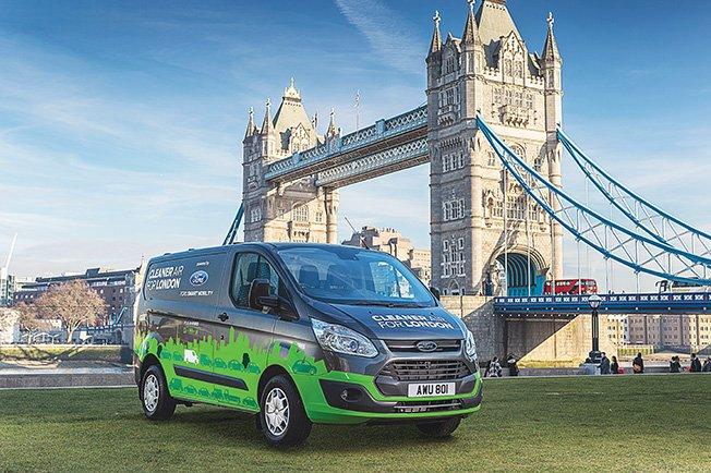 London trials new plug-in hybrid vans