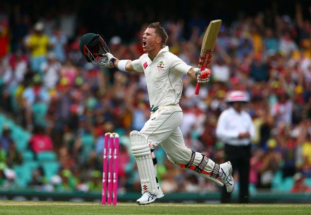 Australia run rampant after Warner's record ton