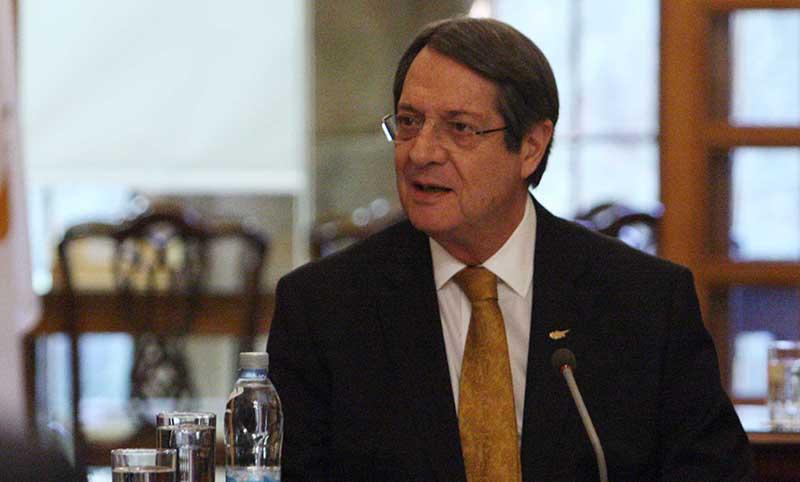 Anastasiades reiterates enosis decision 'unfortunate'