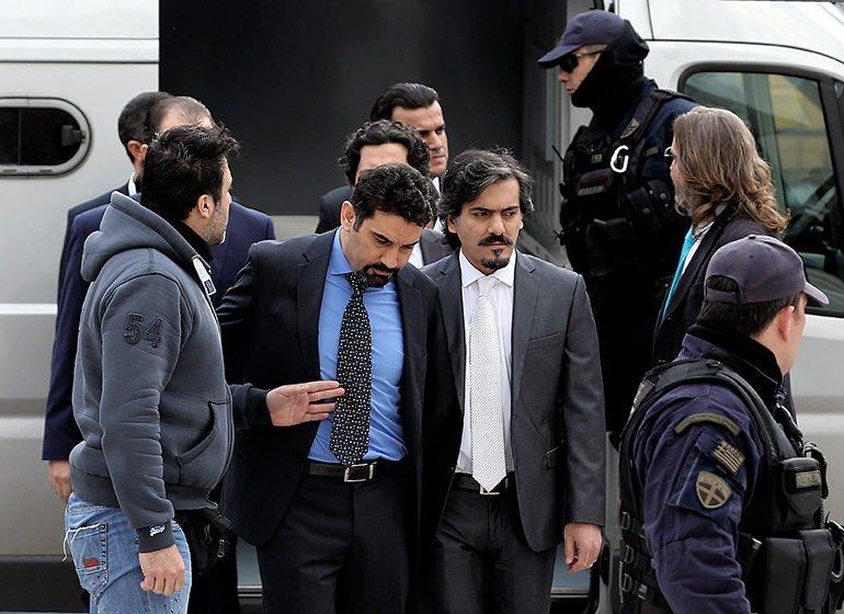 Greek govt applies for cancellation of Turkish soldier's asylum