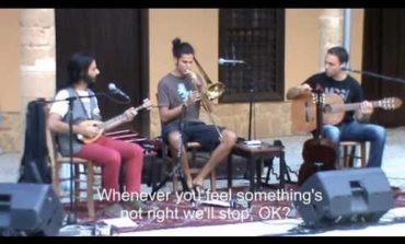Cypriot folk music, with a twist