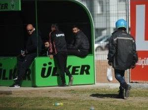 Kebab break during football cup fixture