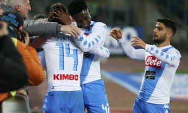 Napoli seal 2-0 win over Genoa to climb to second