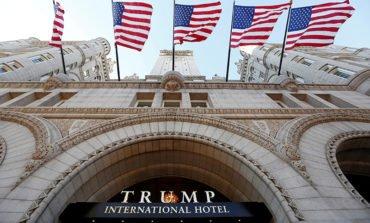 Donald Trump Jr takes over Washington hotel near White House