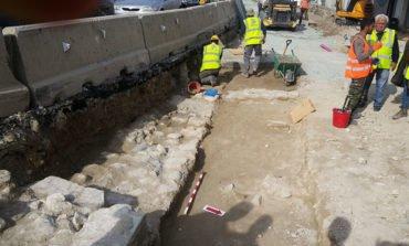 Limassol roadworks uncover mediaeval building