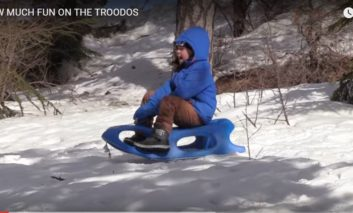 Snow much fun in snow covered Troodos [VIDEO]