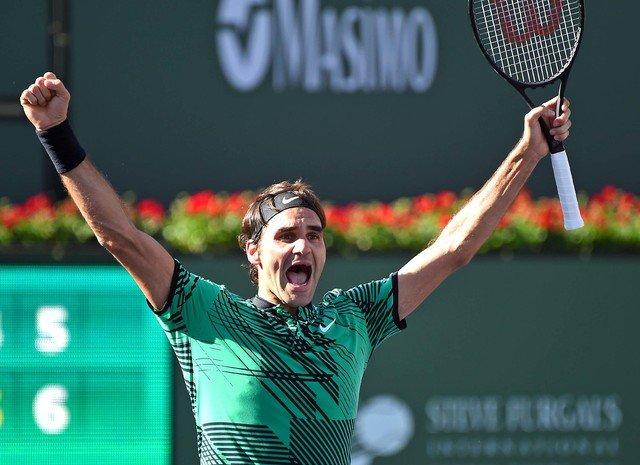 Federer beats Wawrinka in Indian Wells final