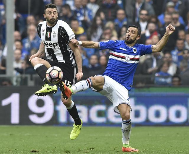 Juventus beat Sampdoria as Scudetto draws closer
