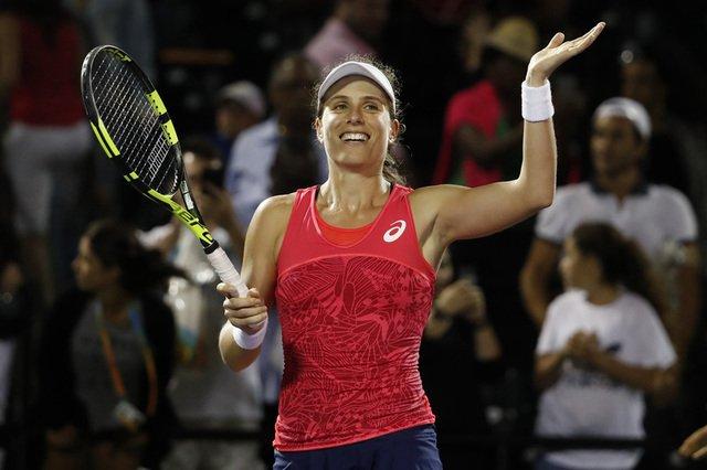 Konta, Wozniacki prevail to set up Miami final