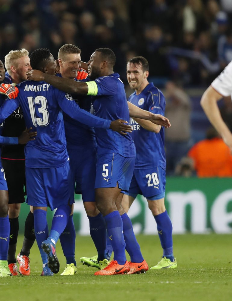 Leicester into quarter-finals after victory over Sevilla