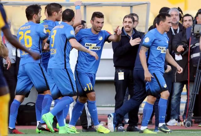 Apoel scrape into Cup semi-finals