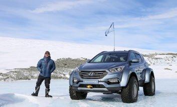 Hyundai sets Antarctic record