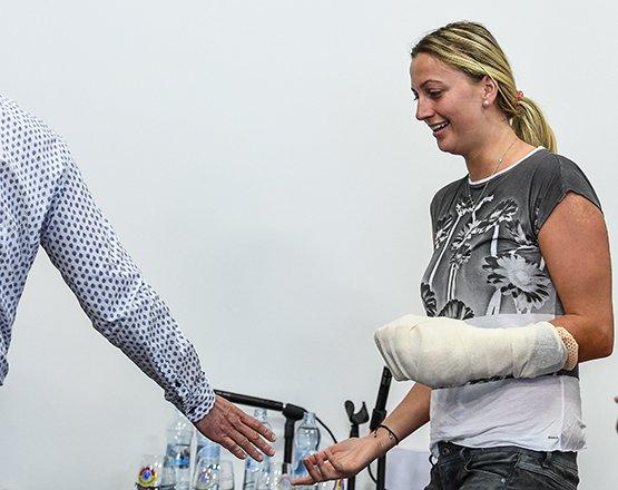 Kvitova enters French Open draw