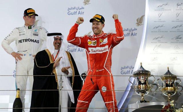 Vettel loving life with revived Ferrari
