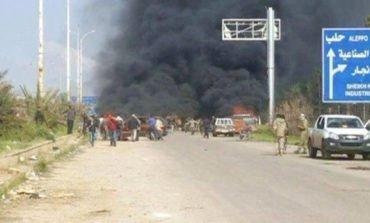 Bombing of Syrian bus convoy kills, wounds dozens near Aleppo
