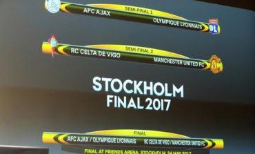United to face Celta Vigo in Europa League last four