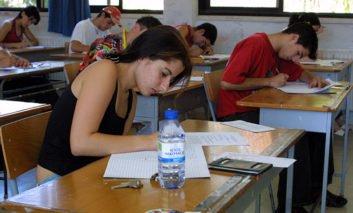 Student hits teacher during exam
