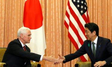Pence takes message of U.S. resolve against N. Korea to Japan