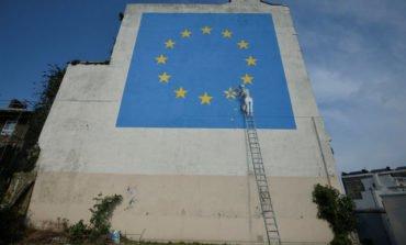 Banksy tackles Brexit in Dover mural