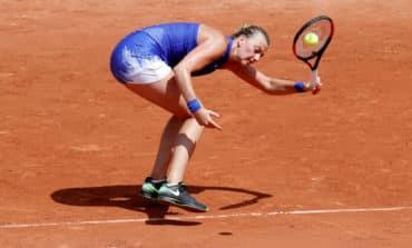 Erratic Kvitova's comeback cut short