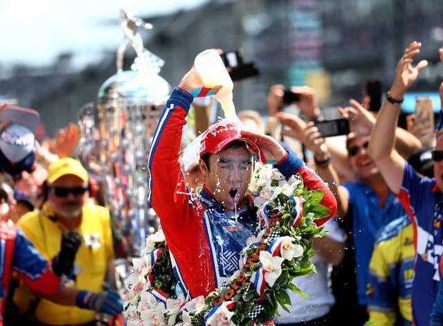 Sato wins Indy 500, engine failure spoils Alonso debut