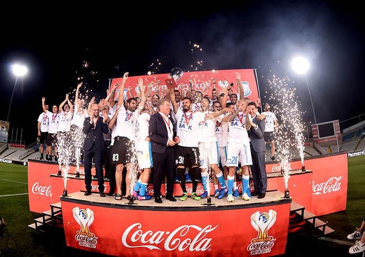 Ten-man Apollon defeat Apoel to win Cyprus Cup