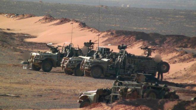US strikes Syria militia threatening US-backed forces