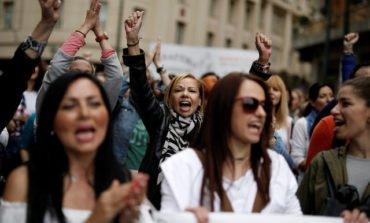 Greek workers strike against belt-tightening, bailout reforms