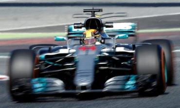 Hamilton fastest as Mercedes dominate in Spain