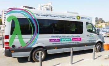 Nicosia mayor refutes new mini buses have no licence