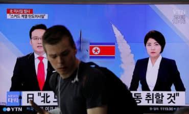 N.Korea fires Scud-class ballistic missile, Japan protests