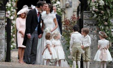 Pippa takes spotlight in star-studded British wedding