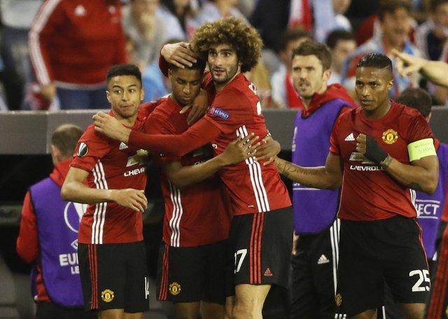 Rashford rocket gives United 1-0 away win in Europa semi